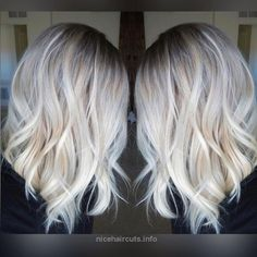 10 Hair Color Ideas for 2016 – 2017: Platinum Blonde Hair Pretty Everyday Hairstyle for Shoulder Length Hair – Platinum Blonde Balayage, Ombre Hairstyles http://www.nicehaircuts.info/2017/05/23/10-hair-color-ideas-for-2016-2017-platinum-blonde-hair-2/