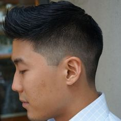 Mid Fade Asian Haircuts Best Asian Hairstyles For Men: Cool Asian Fade Underc Asian Boy Haircuts, Asian Man Haircut, Trendy Mens Haircuts, Cool Hairstyles For Men, Cool Haircuts, Men's Haircuts, Trending Haircuts, Hairstyle Ideas, Comb Over Haircut