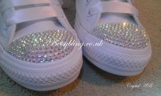 92e5d943aac0 Crystal Converse-Custom handmade Crystal Converse by BetsyBlingUk Wedding  Converse