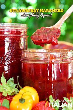 Strawberry Habenero Everything Spread from @SlowRoasted