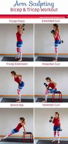 Arm workout women home workout arm workout with weights workout with weights bicep and tricep workout tricep workout women tricep workout at home arm workout at home arm workout at gym upper body workout Tricep Workout With Dumbbells, Bicep And Tricep Workout, Biceps And Triceps, Dumbbell Workout, Skinny Arms Workout, Workout Abs, Arm Workout Women No Equipment, Arm Workout Women With Weights, Weights Women