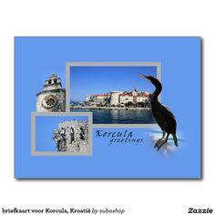 briefkaart voor Korcula, Kroatië, briefkaart voor Korcula,  Photo, tourism, Europe, Croatia, Croatian, Adriatic sea, Adriatic , Mediterranean, Dalmatian, Dalmatia , Dalmatic , Dalmatië,  Korcula, vacation, travelling, journey, holiday, holidays, holiday, voyage, reizen, vakantie, Kroatie, postcard, postcards, design,  Originele postkaarten voor het Korcula in Kroatië met een heel nieuw design. Ook verkrijgbaar ZONDER TEKST zodat je ze kan personaliseren