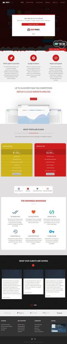 Website 'https://hostmada.com' snapped on Snapito.com