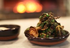 Porteño's Brussels Sprouts