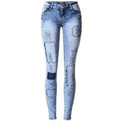 Women's Applique Skinny Jeans