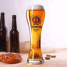 Personalisierbares Original Erdinger Weizenbierglas