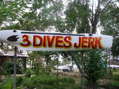 3 Dives Jerk Chicken (or Lobster) in the West End Negril, Jamaica