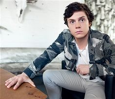 Actor Evan Peters is photographed for August Man on March 14, 2016 in Los Angeles, California. PUBLISHED