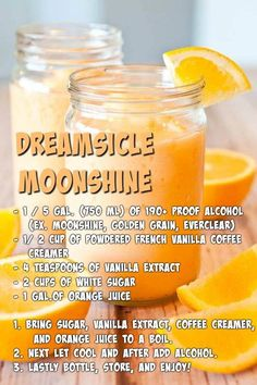 Dreamsicle Moonshine