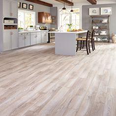 Lovely Kitchen Flooring Ideas Laminate Grey Light Grey Hardwood Floors Gray Tones Mixed With Light Grey Laminate Flooring, Waterproof Laminate Flooring, Kitchen Flooring, Vinyl Flooring, Plank Flooring, Gray Hardwood Floors, Modern Flooring, Light Grey Wood Floors, Dark Wood
