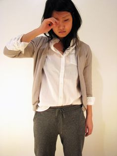 Classy casual oufit, perfect for all my stage warmups!