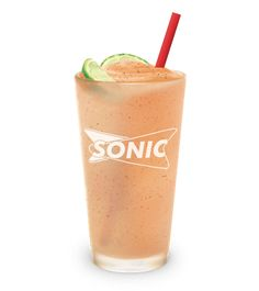 Photo of Sonic Chipotle Spiced Margarita Island Breeze Frozen Drink
