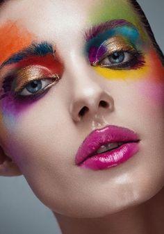 Fashion editorial makeup avant garde behance 70 ideas for 2019 Super creative makeup looks which i l Catwalk Makeup, Eye Makeup, Makeup List, Fairy Makeup, Airbrush Makeup, Mermaid Makeup, Fashion Editorial Makeup, High Fashion Makeup, Fashion Make Up