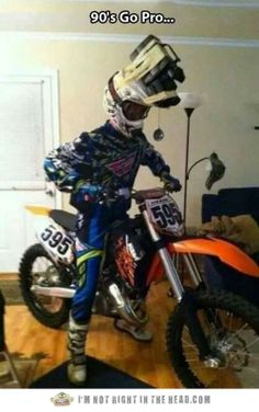 hahaha... i totally would have done something like this as a kid in the 90s!... too funny