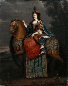 Maria Casimira,Queen of Poland,1670s (Jan III Sobieski's wife-called Marysienka)