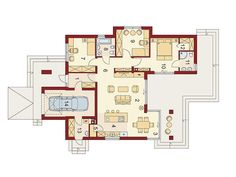 Modern house plans for young couples - Houz Buzz One Storey House, Modern House Plans, Design Case, Life Is Good, Architecture Design, Living Spaces, Home And Family, Sweet Home, Floor Plans