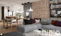Salon - Styl Industrialny - MIKOŁAJSKAstudio