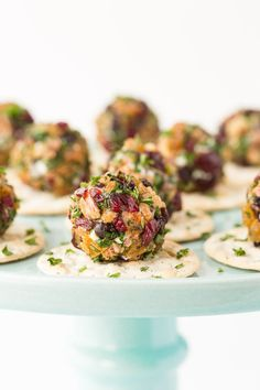 Easy Appetizers for Holiday Entertaining - shirley eble - Easy Appetizers for Holiday Entertaining Rosemary Pecan Goat Cheese Truffles- A super fun, easy, make-ahead appetizer, perfect for topping a cracker, crostini or wedge of warm pita. Make Ahead Appetizers, Low Carb Appetizers, Thanksgiving Appetizers, Thanksgiving Sides, Thanksgiving Recipes, Appetizer Recipes, Delicious Appetizers, Christmas Appetizers, Thanksgiving 2017
