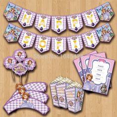 Veja nosso novo produto Kit festa Princesa Sofia FRETE GRÁTIS! Se gostar, pode nos ajudar pinando-o em algum de seus painéis :)