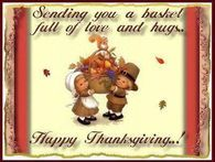 Sending You A Basket Full Of Love Happy Thanksgiving