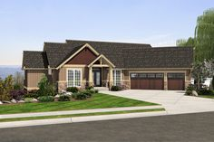 Plan: HHF-2253, 1 story, 3506 total square footage