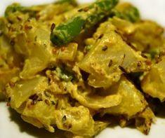 Salade de pommes de terre aux saveurs de l'Inde