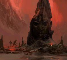 Mathieu Lauffray T Swamp Queen Statue 02