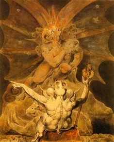 The number of the beast is 666 - William Blake- Conhecido por seus livros 'iluminados', é, também, pioneiro nas artes visuais e na poesia.- Autor literário que ilustra seus próprios livros.