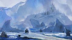 viking ice castle by flockenpracht