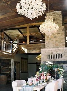 Styled Rustic Outdoor Barn Wedding | Wedding Paper Divas