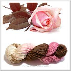 Expression Fiber Arts - ROSES AND THORNS - Hand-Dyed Superwash Merino Wool Yarn - Aran Wt 92g/164yd, $22.73 (http://www.expressionfiberarts.com/products/roses-and-thorns-hand-dyed-superwash-merino-wool-yarn-aran-wt-92g-164yd.html)