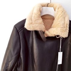 Casual fur leather moto jacket winter biker off Till The End of Month – W. Leather Bike Jacket, Moto Jacket, Winter Fur Coats, Winter Jackets, Puffer Jackets, Shearling Jacket, Faux Fur Jacket, Faux Fur Lined Coat, Aviator Jackets