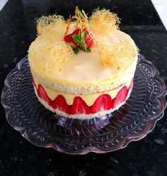 Fraisier cake for Dolly