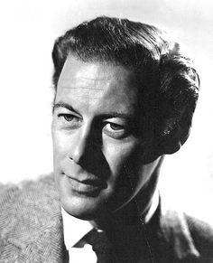 Rex Harrison -- love his voice, his acting...for years I wished I were Eliza Doolittle.