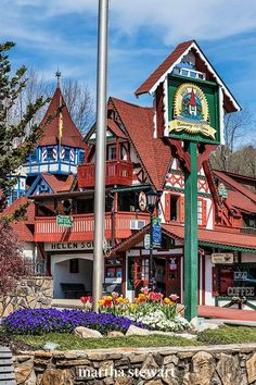 One of the most popular Christmas destinations for Southerners is Helen, Georgia. This whimsical village has built itself into a pristine replica of a German Bavarian town. There's also a Kinderfest and a traditional Christkindlmarkt for you to peruse. #christmas #holidayideas #christmasideas #wintertodo #marthastewart Christmas Events, Christmas Town, Christmas Travel, German Christmas, Christmas Vacation, Christmas Markets, Holiday Travel, Christmas Ideas, Holiday Lights