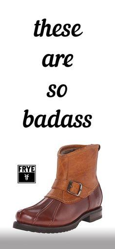 Yes! FRYE Women's Veronica Duck Engineer Winter Boot. Next Frye purchase!!