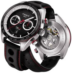"""Tissot PRS 516 Bi-Compax Chronograph Watch - see what it's all about on aBlogtoWatch.com """"With the increasing popularity of more sporty, retro-inspired watches, perhaps Tissot felt the need to remind us that they've been doing it all along. While Tissot's PRS 516 watches have always been retro- and racing-themed, the new Tissot PRS 516 chronograph watches for 2015 feel even more so, and yet fresh and more refined at the same time. This is the PRS 516 line upgraded in almost every way..."""""""