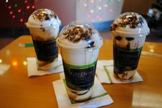 3 Milk Icee + Boba + Pudding + Black Sugar at Ten Ren's Tea Time.