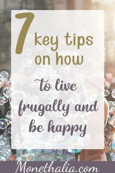 Did you know that being happy and living frugally are not mutually exclusive? They even have synergistic relationship! Learn how you can be frugal and increase your happiness level at the same time. Money Tips, Money Saving Tips, Saving Ideas, Frugal Living Tips, Frugal Tips, Online Work From Home, Finance Tips, Money Management, Personal Finance