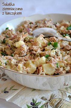 Sałatka ziemniaczana z tuńczykiem