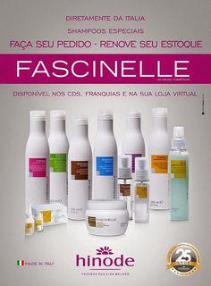 Hinode Z: linha italiana de produtos para cabelos:Fascinelle...