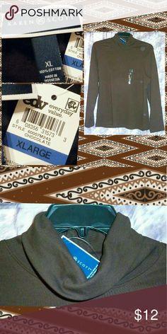 I just added this listing on Poshmark: Chocolate Brown Soft Knit Turtleneck Top XL. #shopmycloset #poshmark #fashion #shopping #style #forsale #Karen Scott #Tops