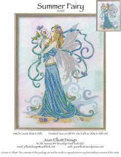Summer Fairy_JE.002_1/5 - Joan Elliott, from CS Collection #170