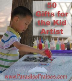 50 Gifts for the Kid Artist - Paradise Praises