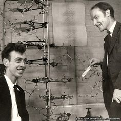 Medical Revolution: the co-discoverers of the structure of DNA (1953)