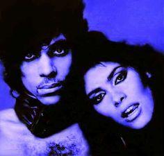 Prince and Vanity vintage 1980s