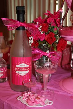 {FEATURED PARTY} American Girl Birthday Party ~ Kroma Design Studio Parties & Events