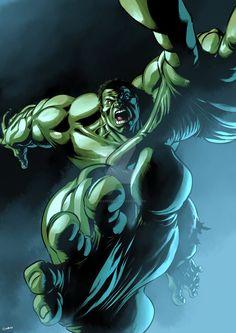 #HULK #Fan #Art. (Hulk Will Catch You!) By:Eddie-Ferreira. (THE * 3 * STÅR * ÅWARD OF: AW YEAH, IT'S MAJOR ÅWESOMENESS!!!™)[THANK Ü 4 PINNING!!!<·><]<©>ÅÅÅ+(OB4E)