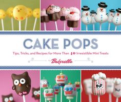 What's cuter than a cupcake? A cake pop, of course! Wildly popular blogger Bakerella (aka Angie Dudley) has turned cake pops into an international sensation! Cute little cakes on a stick from decorated balls to more ambitious shapes such as baby chicks, ice cream cones, and even cupcakes these adorable creations are the perfect alternative to cake at any party or get-together. Martha Stewart loved the cupcake pops so much she had Bakerella appear on her show to demonstrate making them. Now…