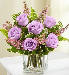 Send flowers, balloons and gifts worldwide with sendflowersandmore. Send flowers online for same day and next day delivery. Send flowers today in USA. Flowers For Mom, 800 Flowers, Flowers Today, Fresh Flowers, Beautiful Flowers, Lavender Roses, Purple Roses, Send Roses, Flower Arrangements Simple